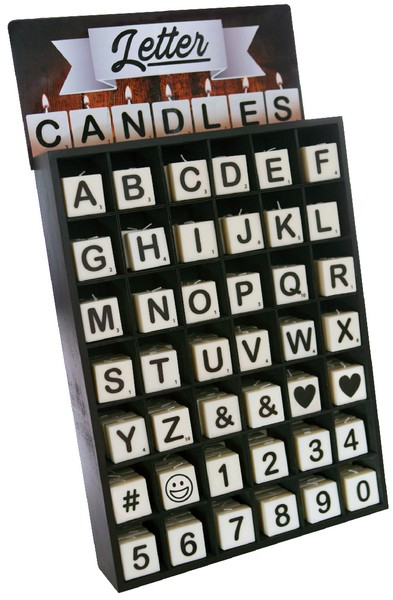 Letter Candles