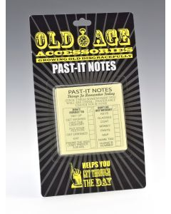 Old Age - Past-It Notes
