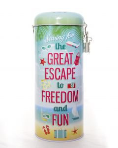 Saver Tin - Great Escape (Holiday £500)