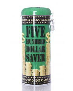 Saver Tin - $500 ($ Art)