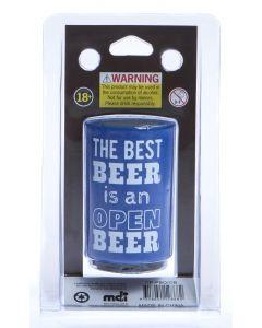 The Best Beer Is An Open Beer - Push Down Bottle Opener