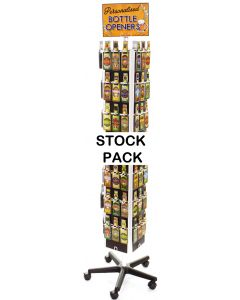 Beer Bottle Opener - Spinner Stock (84x2
