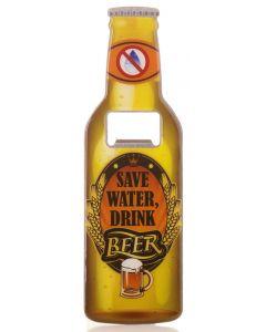 Beer Bottle Opener - Save Water