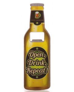 Beer Bottle Opener - Open Drink Repeat