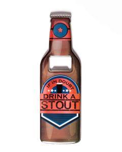 Beer Bottle Opener - Drink Stout