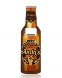 Beer Bottle Opener - Andy