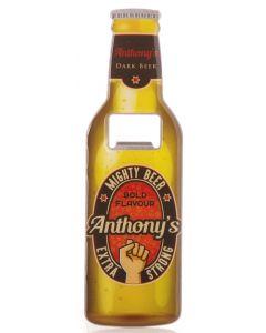 Beer Bottle Opener - Anthony