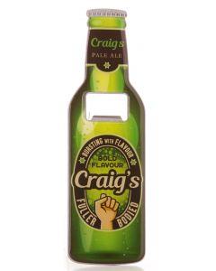 Beer Bottle Opener - Craig
