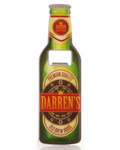Beer Bottle Opener - Darren