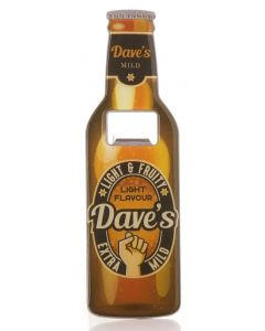 Beer Bottle Opener - Dave