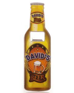 Beer Bottle Opener - David