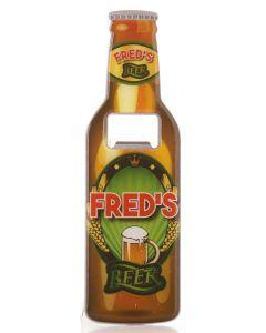 Beer Bottle Opener - Fred