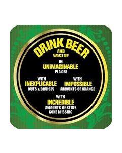 Coaster - Drink Beer