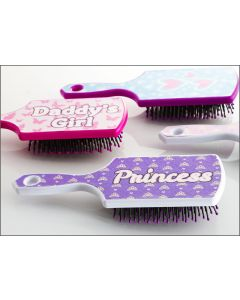 Hairbrush - Princess (Purple)