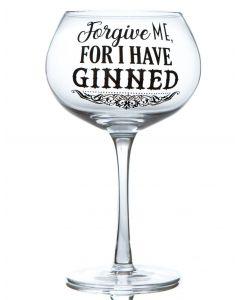 Gin Bloom Glass - Forgive Me