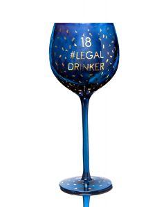 Opulent Wine Glass - Age 18