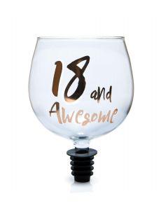 Tipple Topper Wine Glass - 18