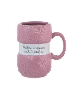 Crochet Mug - Holding It Together