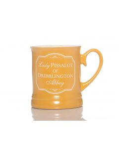 Victoriana Mug - Lady Piss A Lot (10oz)