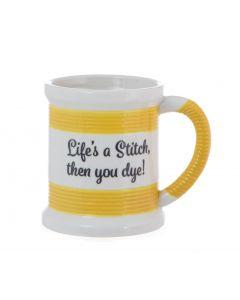 Sewing Mug - Lifes A Stitch