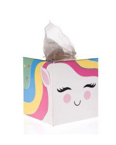 Unicorn Tissue Box