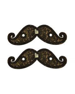 Shwings - Moustache - Black Spk- Lace