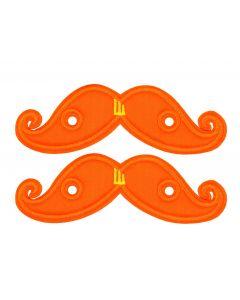 Shwings - Moustache - Orange Neon- Lace