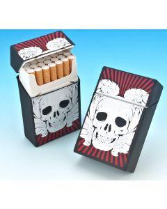 Silicone Cigarette Case - Skull