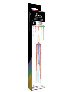 Drip Candle - Multi Colour Drip 2 Candle