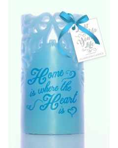 Wax Flameless Candle - Home