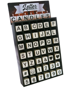 Number/Letter Candle (42 X 4 )