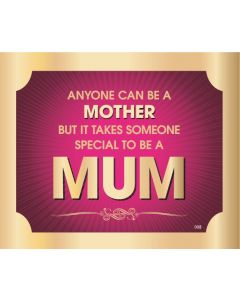 Plaque - Mum