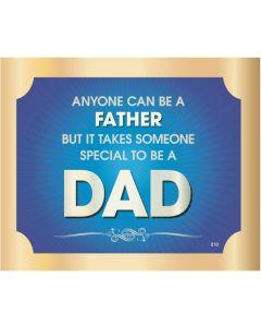 Plaque - Dad
