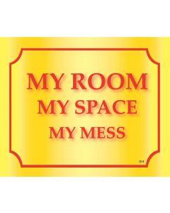 Plaque - My Room
