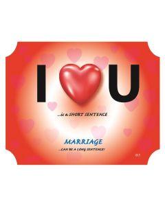 Plaque - I Love U