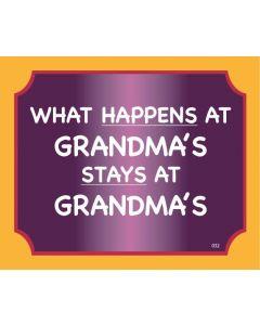 Plaque - Grandmas