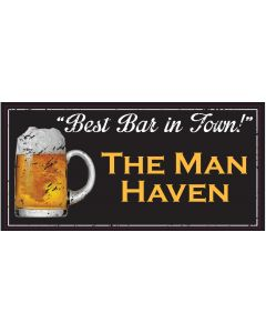Bar Signs - The Man Haven