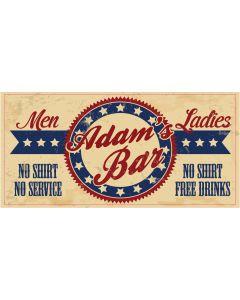 Bar Signs - Adam
