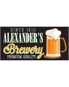 Bar Signs - Alexander