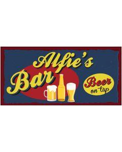 Bar Signs - Alfie