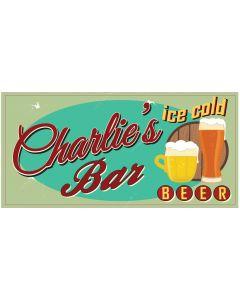 Bar Signs - Charlie