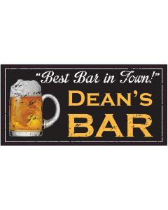 Bar Signs - Dean