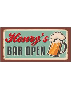 Bar Signs - Henry