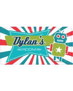 Retro Sign - Dylan