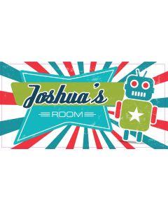 Retro Sign - Joshua