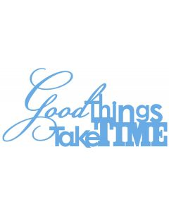 Chatterwall - Good Things Take Time