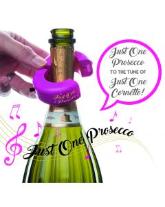 Musical Bottle Collar - Just One Prosecco