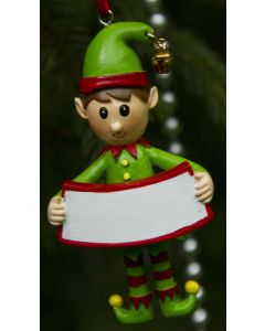Elf Decoration  - Blank