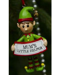 Elf Decoration  - Mums Little Helper
