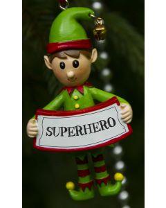 Elf Decoration  - Superhero